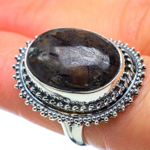 Astrophyllite Rings handcrafted by Ana Silver Co - RING32464
