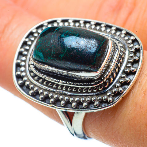 Shattuckite Rings handcrafted by Ana Silver Co - RING32483