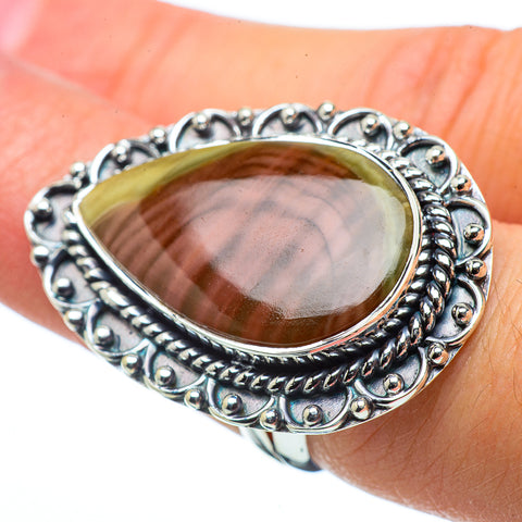Willow Creek Jasper Rings handcrafted by Ana Silver Co - RING32607