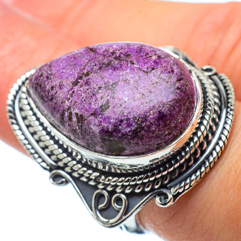 Stichtite Rings handcrafted by Ana Silver Co - RING32659