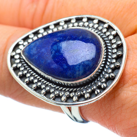 Sodalite Rings handcrafted by Ana Silver Co - RING32728