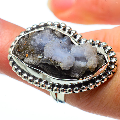 Desert Druzy Rings handcrafted by Ana Silver Co - RING33102