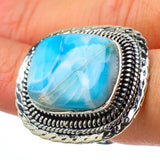 Larimar Rings handcrafted by Ana Silver Co - RING33126