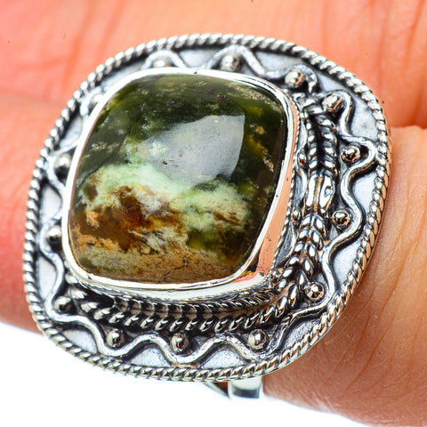 Ocean Jasper Rings handcrafted by Ana Silver Co - RING33138