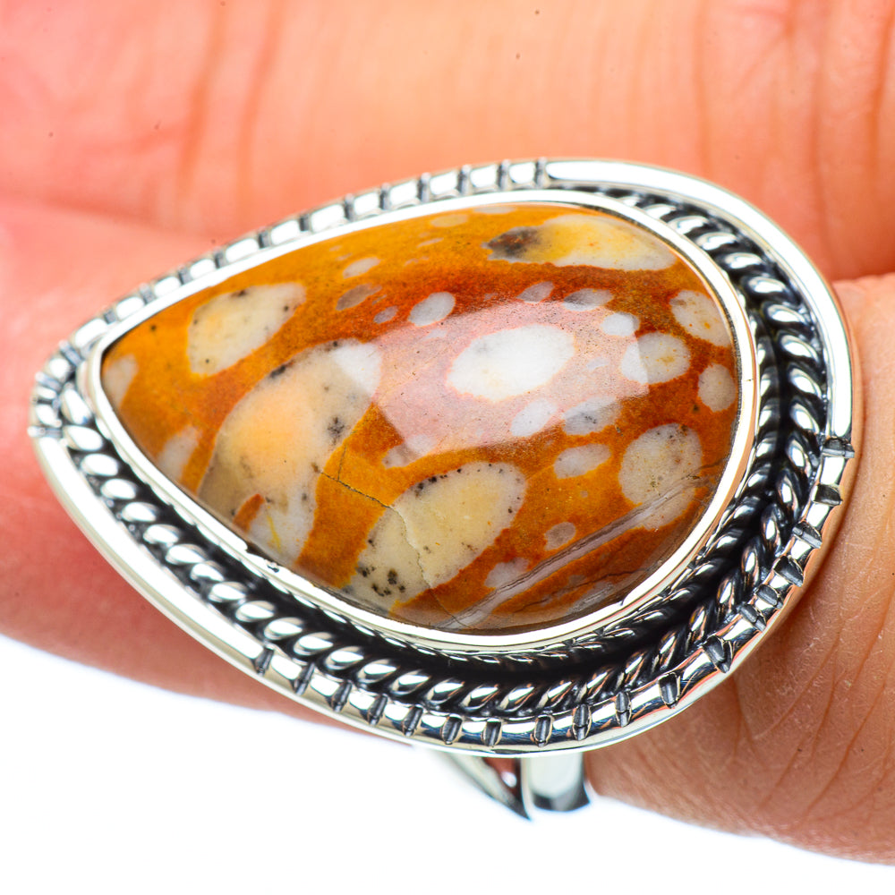 Mookaite Rings handcrafted by Ana Silver Co - RING33143