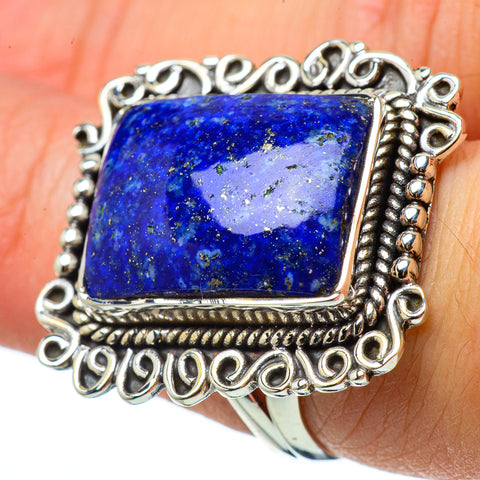 Sodalite Rings handcrafted by Ana Silver Co - RING33171