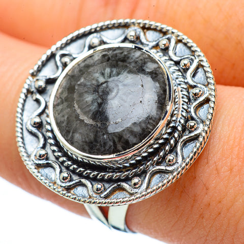 Pinolith Jasper Rings handcrafted by Ana Silver Co - RING33326