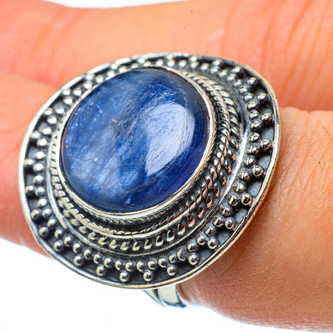 Kyanite Rings handcrafted by Ana Silver Co - RING33490