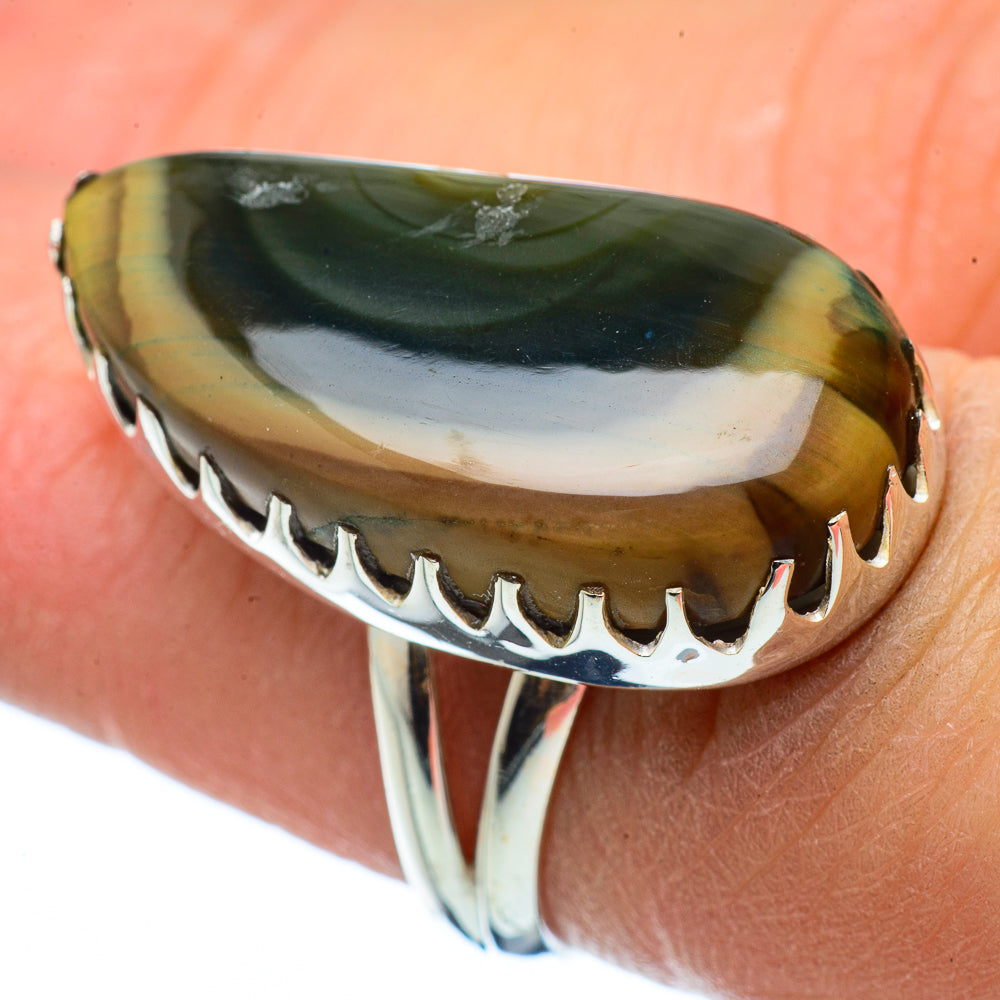 Willow Creek Jasper Rings handcrafted by Ana Silver Co - RING33526