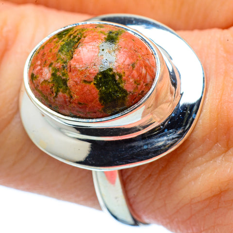 Unakite Rings handcrafted by Ana Silver Co - RING33806