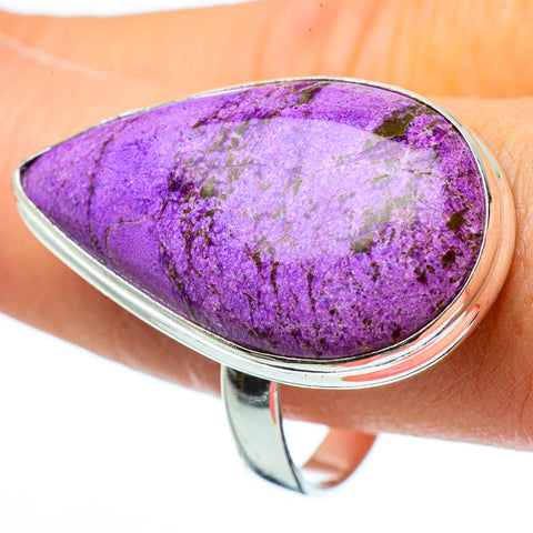 Stichtite Rings handcrafted by Ana Silver Co - RING34070