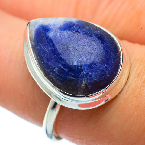 Sodalite Rings handcrafted by Ana Silver Co - RING34228