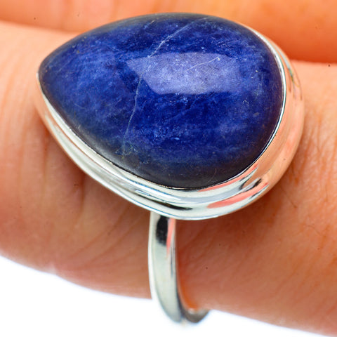 Sodalite Rings handcrafted by Ana Silver Co - RING34272