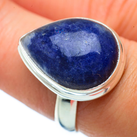 Sodalite Rings handcrafted by Ana Silver Co - RING34316