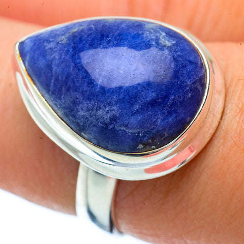 Sodalite Rings handcrafted by Ana Silver Co - RING34357