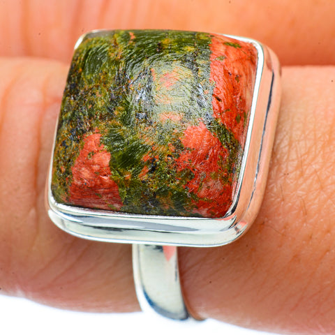 Unakite Rings handcrafted by Ana Silver Co - RING34359
