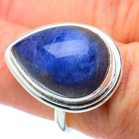 Sodalite Rings handcrafted by Ana Silver Co - RING34516