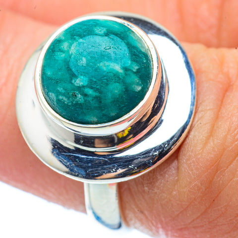Amazonite Rings handcrafted by Ana Silver Co - RING34545