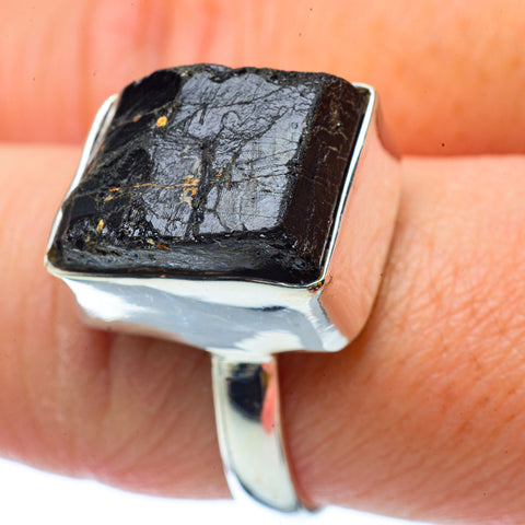 Tektite Rings handcrafted by Ana Silver Co - RING34555