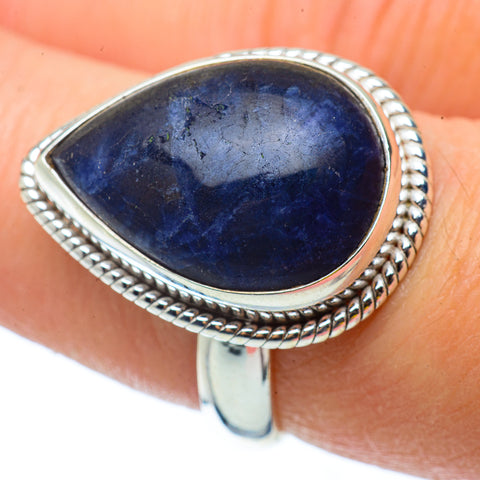 Sodalite Rings handcrafted by Ana Silver Co - RING34600