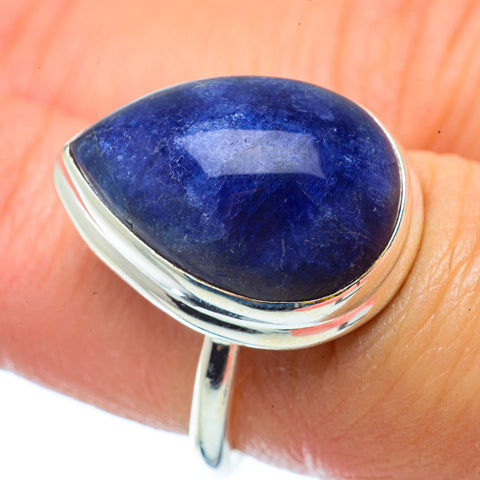 Sodalite Rings handcrafted by Ana Silver Co - RING34697