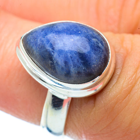 Sodalite Rings handcrafted by Ana Silver Co - RING34846