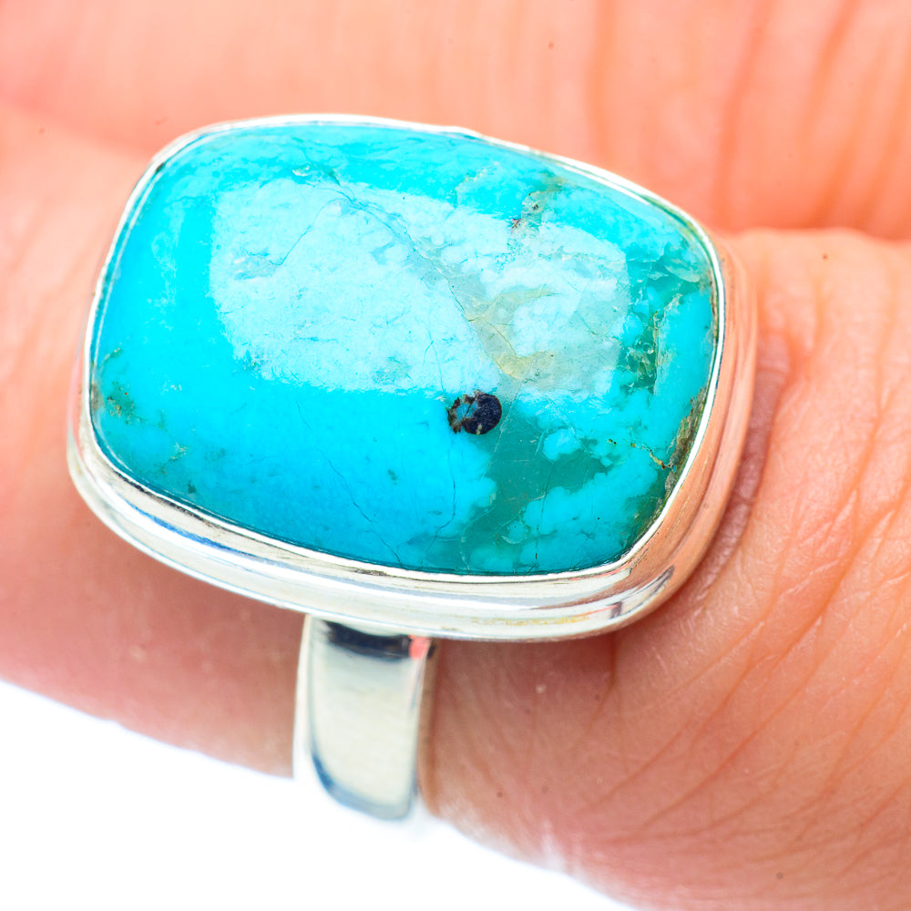 Chrysocolla Rings handcrafted by Ana Silver Co - RING35559