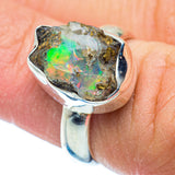 Ethiopian Opal Rings handcrafted by Ana Silver Co - RING35805
