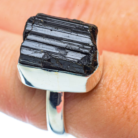 Tektite Rings handcrafted by Ana Silver Co - RING36039