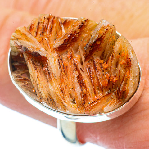 Vanadinite Rings handcrafted by Ana Silver Co - RING36066