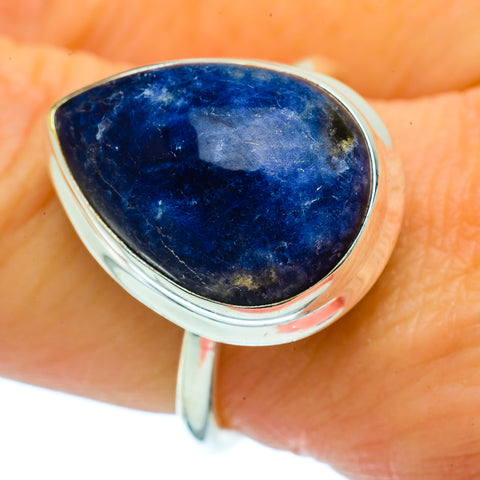Sodalite Rings handcrafted by Ana Silver Co - RING36591