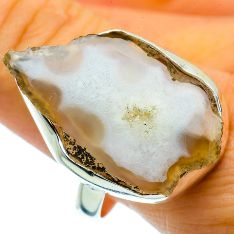 Occo Geode Slice Rings handcrafted by Ana Silver Co - RING36885