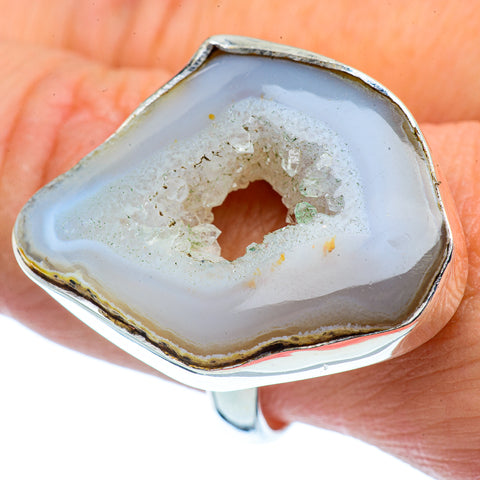 Occo Geode Slice Rings handcrafted by Ana Silver Co - RING38010