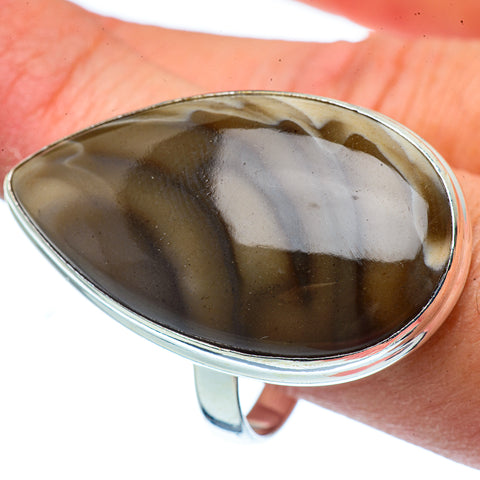 Imperial Jasper Rings handcrafted by Ana Silver Co - RING38099