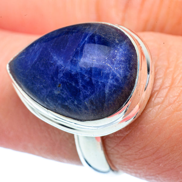 Sodalite Rings handcrafted by Ana Silver Co - RING38414