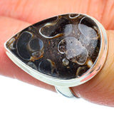 Marston Marble Fossil Rings handcrafted by Ana Silver Co - RING38821