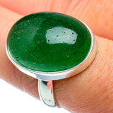 Green Aventurine Rings handcrafted by Ana Silver Co - RING39029