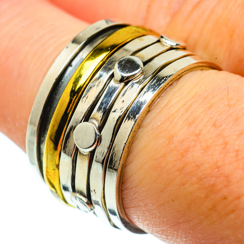 Meditation Spinner Rings handcrafted by Ana Silver Co - RING39154