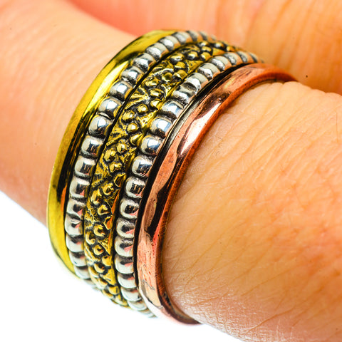 Meditation Spinner Rings handcrafted by Ana Silver Co - RING39300