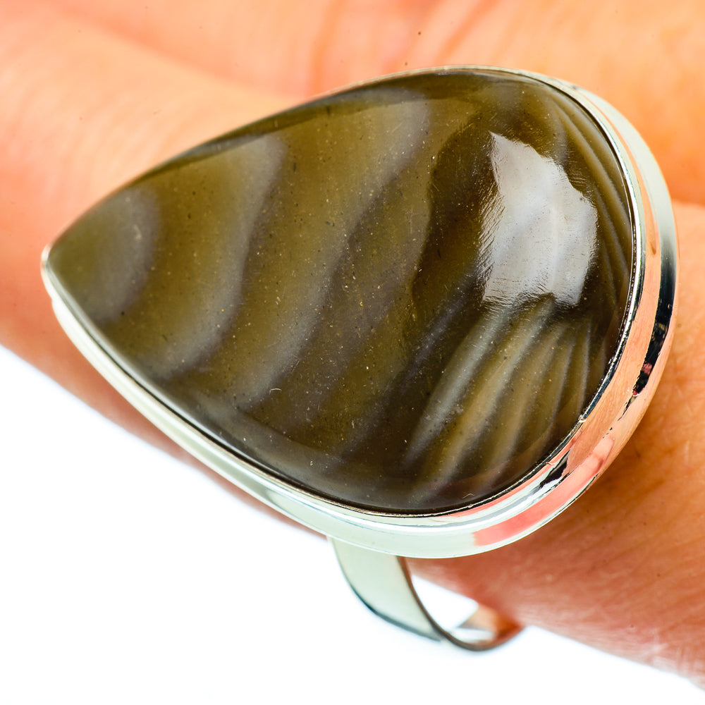 Imperial Jasper Rings handcrafted by Ana Silver Co - RING39434
