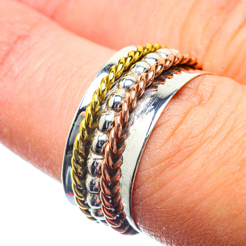 Meditation Spinner Rings handcrafted by Ana Silver Co - RING39635