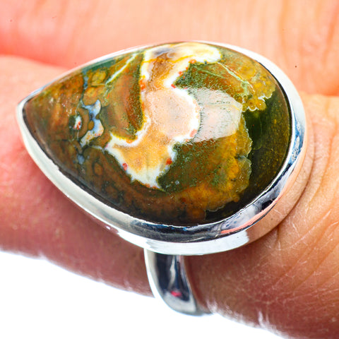 Rainforest Opal Rings handcrafted by Ana Silver Co - RING39722
