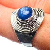 Kyanite Rings handcrafted by Ana Silver Co - RING39806