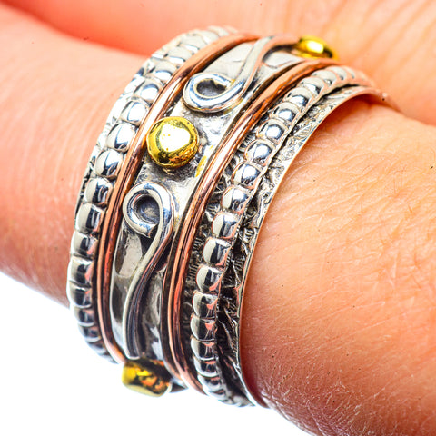 Meditation Spinner Rings handcrafted by Ana Silver Co - RING39839