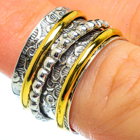 Meditation Spinner Rings handcrafted by Ana Silver Co - RING39998