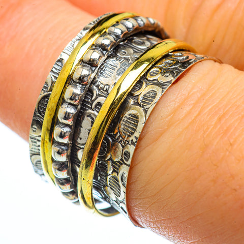 Meditation Spinner Rings handcrafted by Ana Silver Co - RING40083