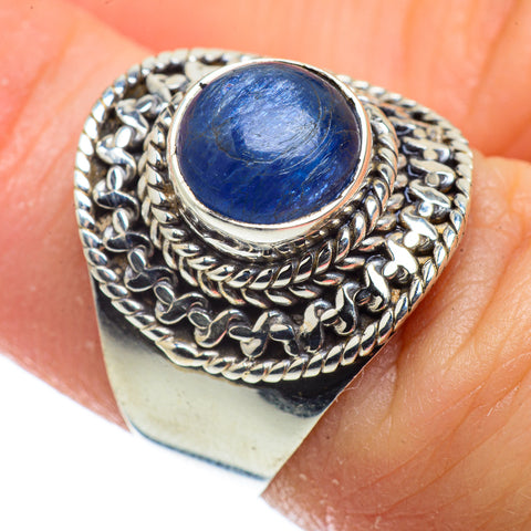Kyanite Rings handcrafted by Ana Silver Co - RING40888