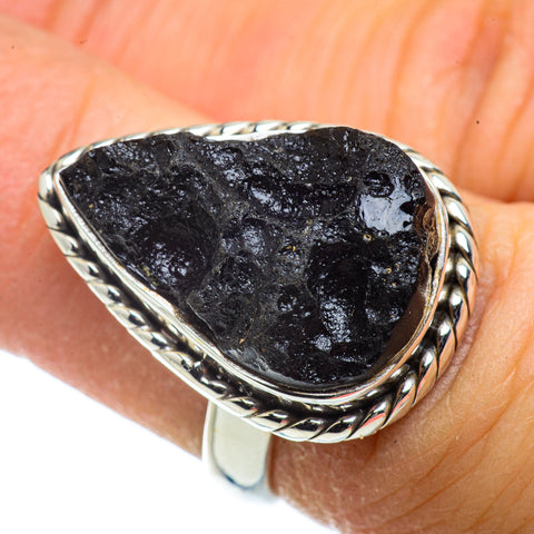 Tektite Rings handcrafted by Ana Silver Co - RING41339