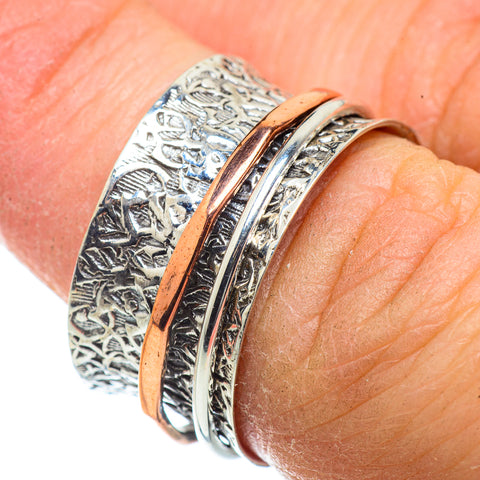 Meditation Spinner Rings handcrafted by Ana Silver Co - RING41365