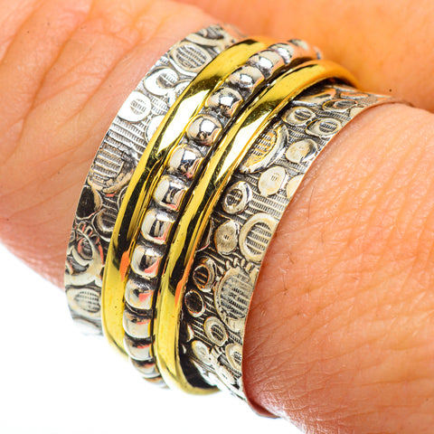 Meditation Spinner Rings handcrafted by Ana Silver Co - RING41638